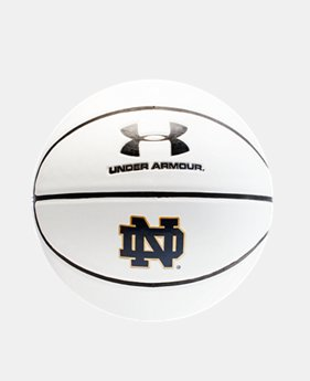 UA Notre Dame Autograph Basketball  1 Color $22.99