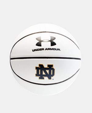 UA Notre Dame Autograph Basketball  1 Color $17.24