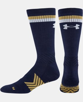 Men's UA Undeniable Stripe Crew Socks