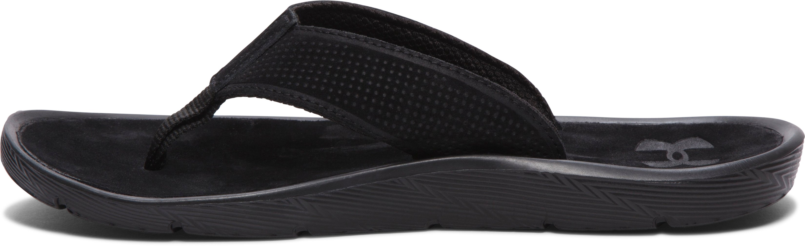 Men's UA Elite Harbor Sandals, Black , undefined