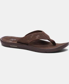 New to Outlet Men's UA Elite Harbor Sandals  1 Color $44.99