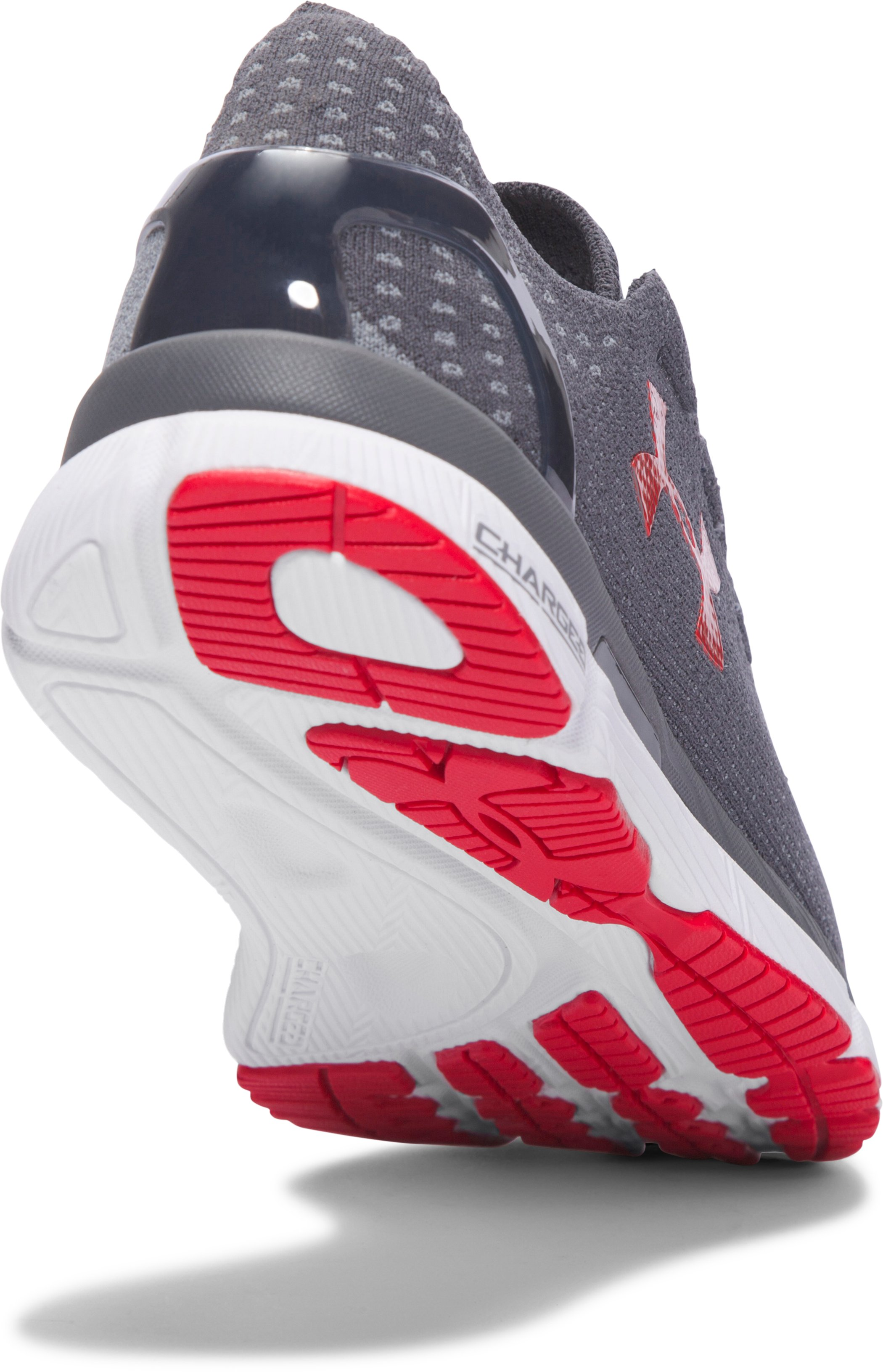 Men's UA SpeedForm® Slingshot Running Shoes, RHINO GRAY,