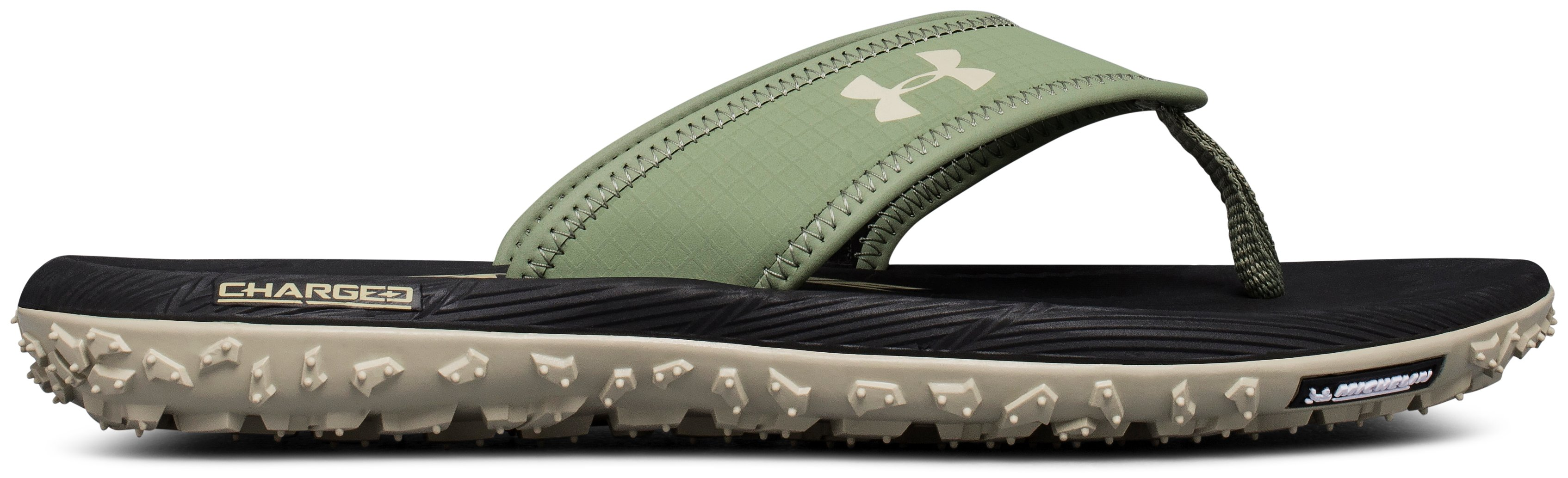 Men's UA Fat Tire Sandals, Sandstorm