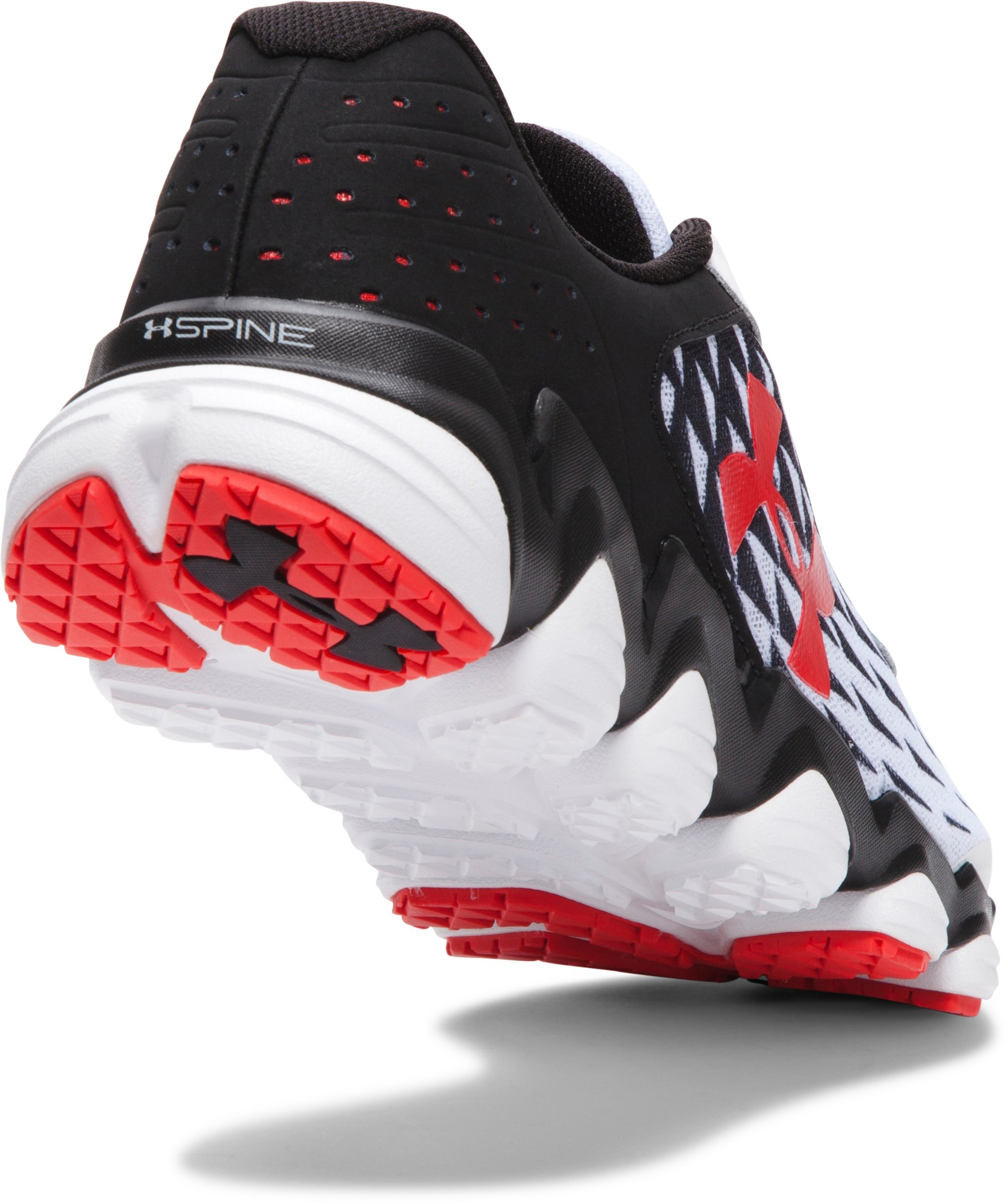 Men's UA Spine™ Disrupt Running Shoes, White, undefined