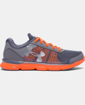 New Arrival  Boys' Grade School UA Micro G® Speed Swift Running Shoes   1 Color $69.99
