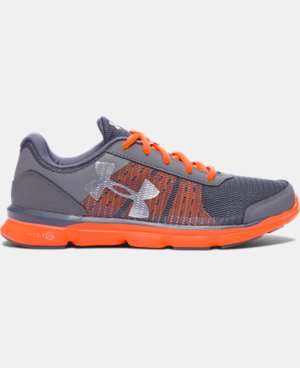 Boys' Grade School UA Micro G® Speed Swift Running Shoes  LIMITED TIME: UP TO 30% OFF 1 Color $52.49