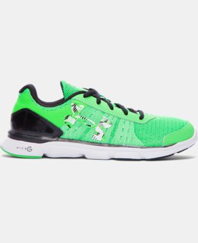 Best Seller Boys' Grade School UA Micro G® Speed Swift Running Shoes  1 Color $88.39