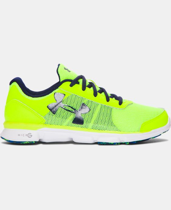 Boys' Grade School UA Micro G® Speed Swift Running Shoes  LIMITED TIME OFFER + FREE U.S. SHIPPING 1 Color $44.99