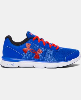 Boys' Grade School UA Micro G® Speed Swift Running Shoes  LIMITED TIME: FREE U.S. SHIPPING  $44.99
