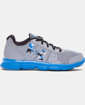 Boys' Pre-School UA Speed Swift Running Shoes  LIMITED TIME OFFER + FREE U.S. SHIPPING 1 Color $37.99