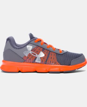 Boys' Pre-School UA Speed Swift Running Shoes  LIMITED TIME: FREE SHIPPING 1 Color $44.99
