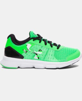 Boys' Pre-School UA Speed Swift Running Shoes   $37.99