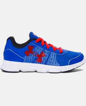 Best Seller Boys' Pre-School UA Speed Swift Running Shoes  1 Color $49.99