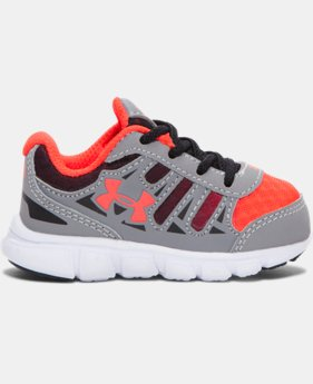 Boys' Infant UA Spine Graphic Running Shoes  1  Color Available $49.99