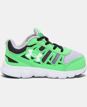 New Arrival Boys' Infant UA Spine Graphic Running Shoes   $37.99