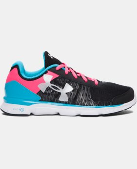 New Arrival  Girls' Grade School UA Micro G® Speed Swift Running Shoes  1 Color $69.99