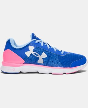 Girls' Grade School UA Micro G® Speed Swift Running Shoes   $33.74