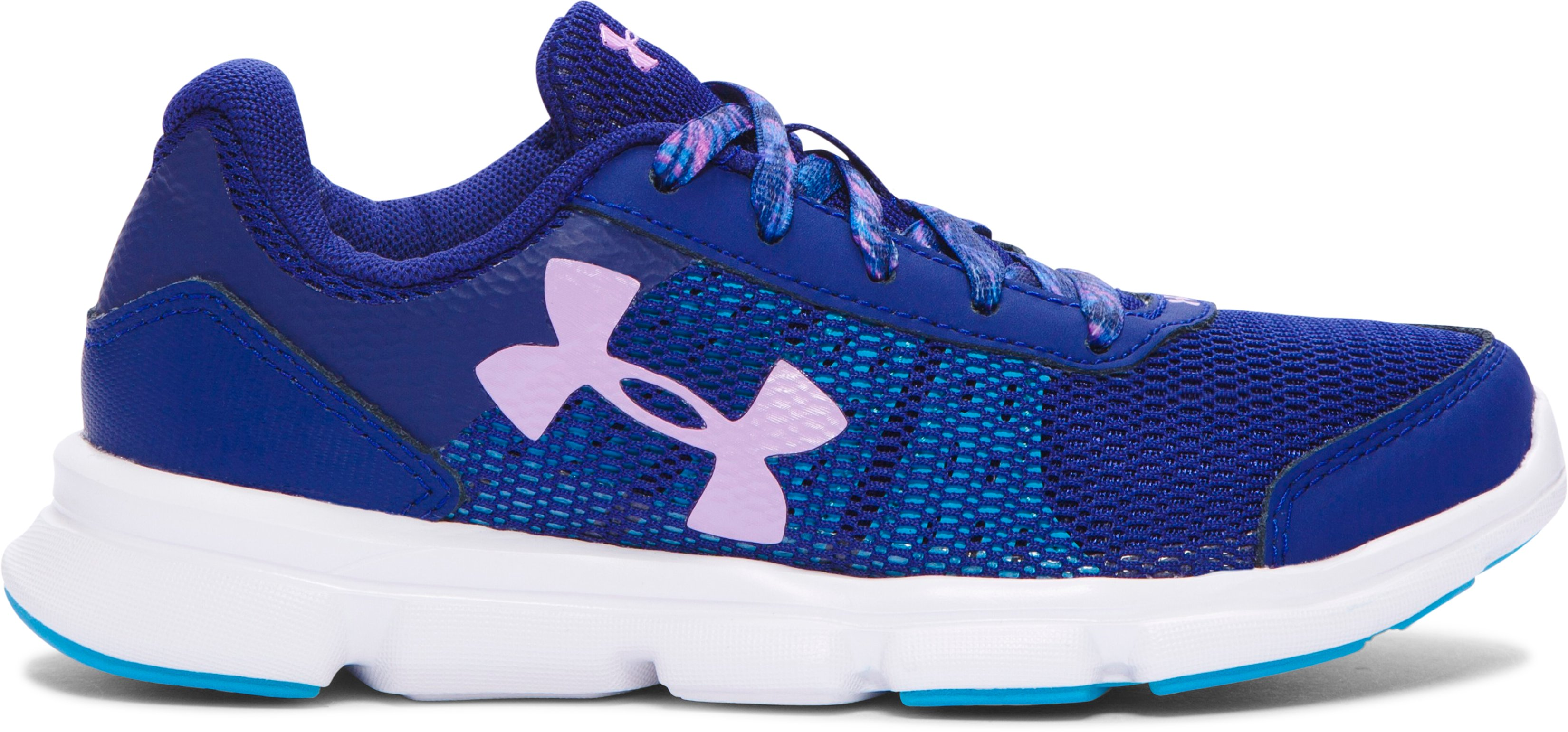 Girls' Pre-School UA Speed Swift Running Shoes , Caspian