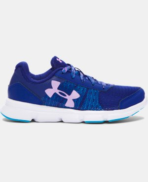 New Arrival  Girls' Pre-School UA Speed Swift Running Shoes   $59.99
