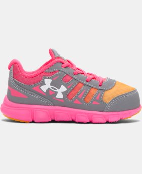 Girls' Infant UA Spine Running Shoes  2 Colors $49.99