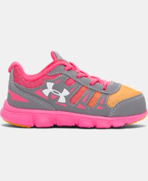 Girls' Infant UA Spine Running Shoes LIMITED TIME: FREE SHIPPING 2 Colors $28.49 to $37.99
