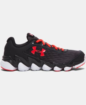 Boys' Grade School UA Micro G® Spine™ Disrupt Running Shoes  4 Colors $89.99
