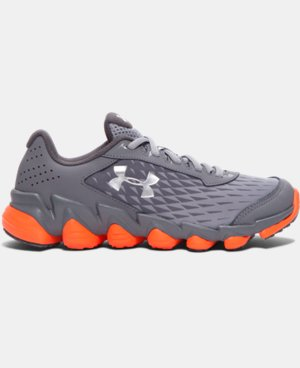 Boys' Grade School UA Micro G® Spine™ Disrupt Running Shoes LIMITED TIME: FREE U.S. SHIPPING  $69.99