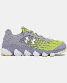 Boys' Grade School UA Micro G® Spine™ Disrupt Running Shoes  1 Color $89.99