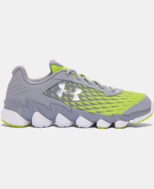Boys' Grade School UA Micro G® Spine™ Disrupt Running Shoes LIMITED TIME: FREE U.S. SHIPPING  $52.99