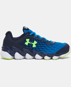 Boys' Grade School UA Micro G® Spine™ Disrupt Running Shoes LIMITED TIME: FREE SHIPPING 1 Color $89.99
