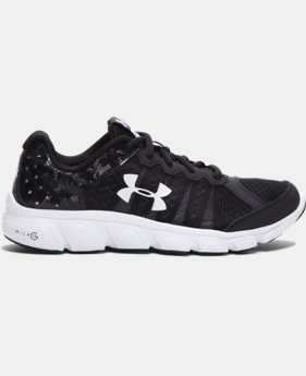 Boys' Grade School UA Micro G® Assert 6 Running Shoes  7 Colors $51.99