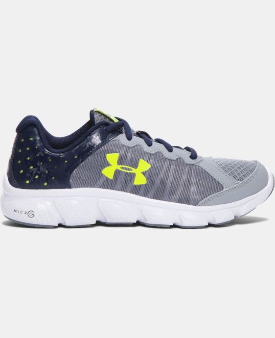 Boys' Grade School UA Micro G® Assert 6 Running Shoes LIMITED TIME: FREE SHIPPING  $52.99 to $69.99
