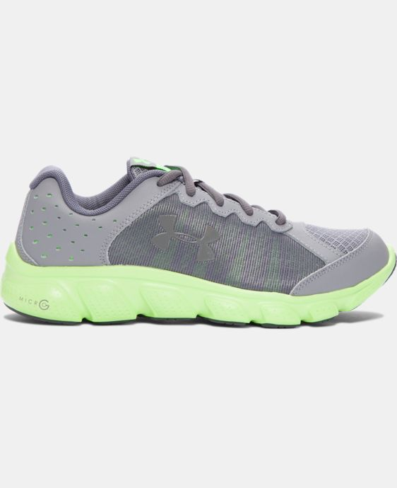 Boys' Grade School UA Micro G® Assert 6 Running Shoes LIMITED TIME: FREE SHIPPING 2 Colors $69.99