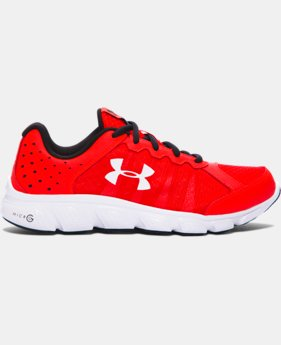 Boys' Grade School UA Micro G® Assert 6 Running Shoes  9 Colors $69.99