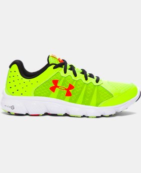 Boys' Grade School UA Micro G® Assert 6 Running Shoes LIMITED TIME OFFER 1 Color $38.99