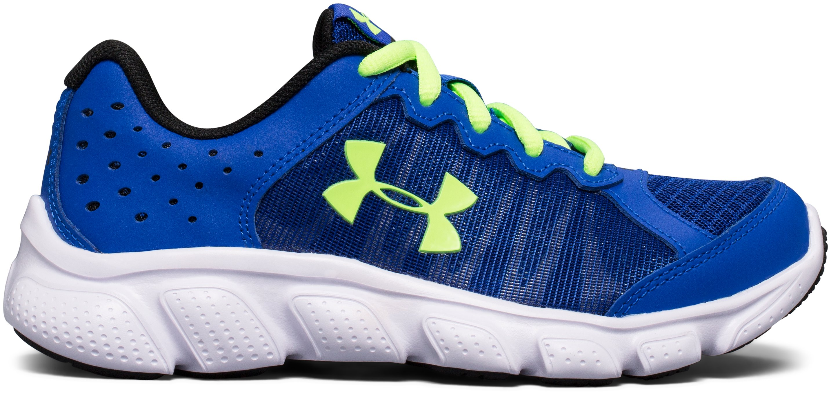 Boys' Pre-School UA Assert 6 Running Shoes, Royal, zoomed image