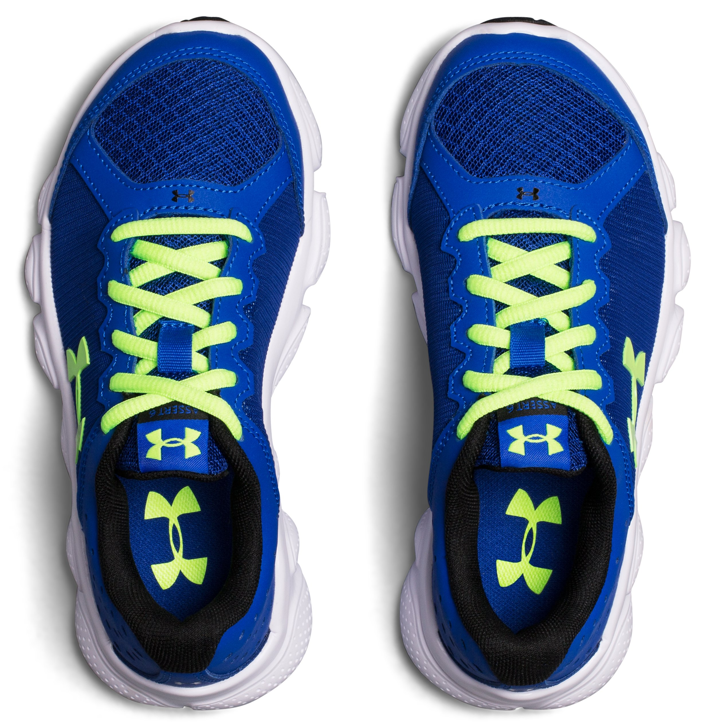 Boys' Pre-School UA Assert 6 Running Shoes, Royal