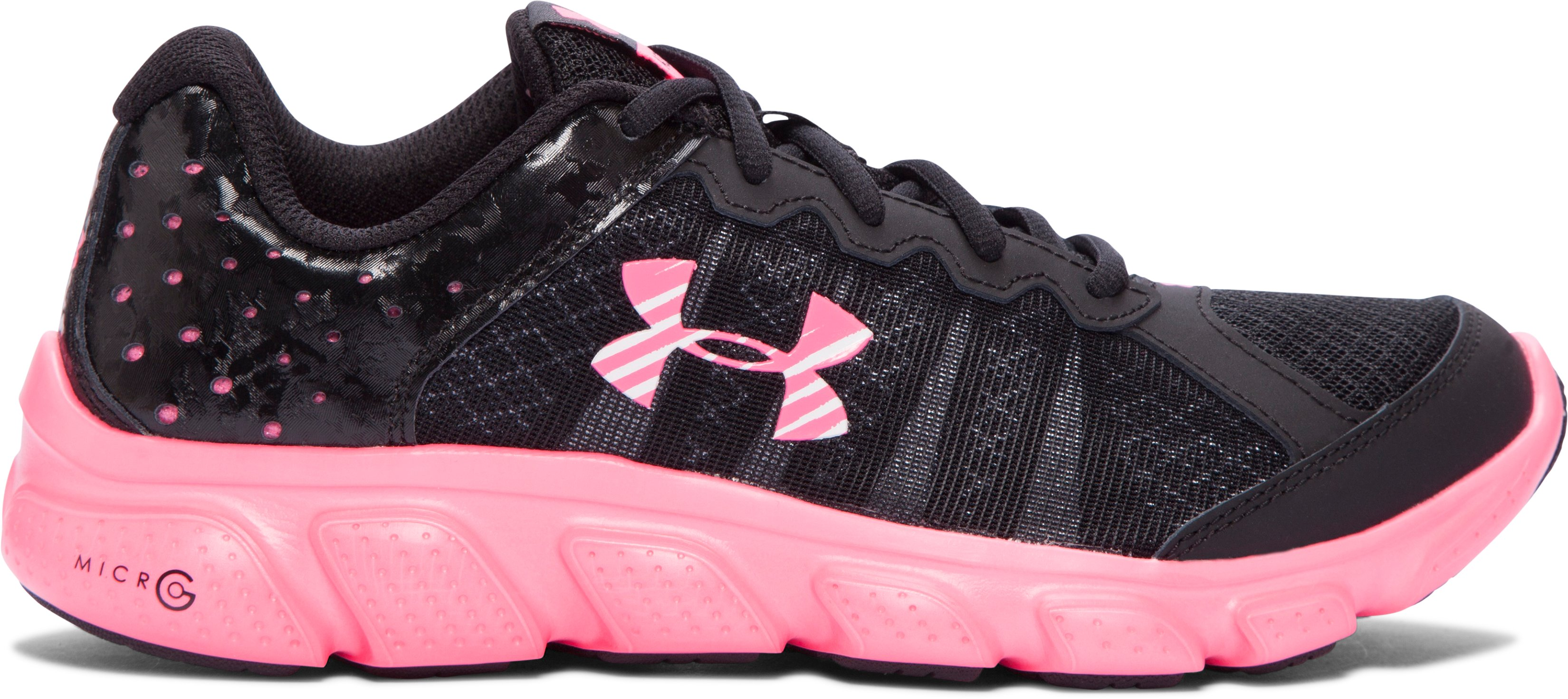 Girls' Grade School UA Micro G® Assert 6 Running Shoes 2 Colors $38.99