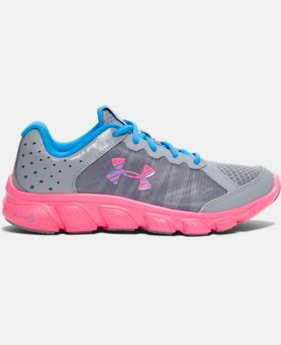 Girls' Grade School UA Micro G® Assert 6 Running Shoes LIMITED TIME OFFER  $38.99