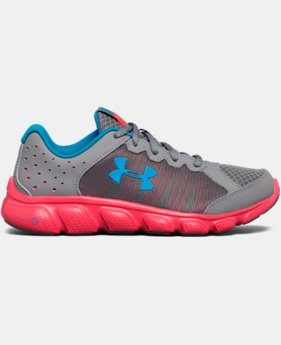 Girls' Grade School UA Micro G® Assert 6 Running Shoes LIMITED TIME OFFER 2 Colors $38.99