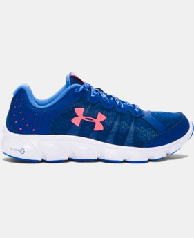 New Arrival  Girls' Grade School UA Micro G® Assert 6 Running Shoes  6 Colors $69.99