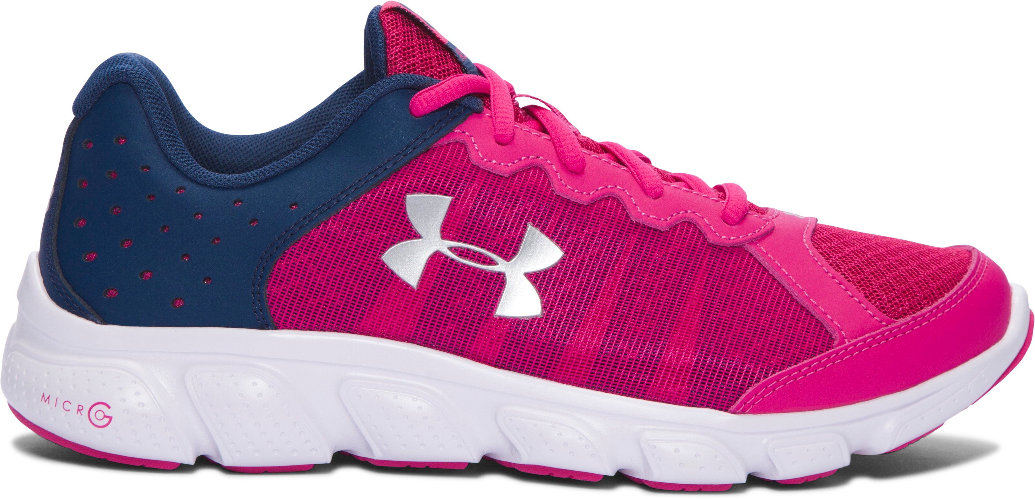 Girls' Grade School UA Micro G® Assert 6 Running Shoes 1 Color $38.99
