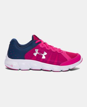 Outlet For Cheap Under Armour PS Rave 2 AC Running Shoe(Girls') -Zinc Gray/Brilliance/Brilliance Collections Cheap Price Sale Looking For With Paypal Cheap Online Cheap Low Price 8oLHaXbFpl