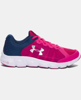 Girls' Grade School UA Micro G® Assert 6 Running Shoes LIMITED TIME OFFER 1 Color $38.99