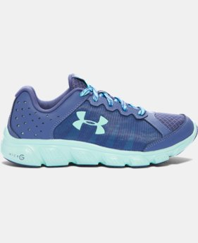New Arrival  Girls' Grade School UA Micro G® Assert 6 Running Shoes LIMITED TIME: FREE SHIPPING 1 Color $69.99