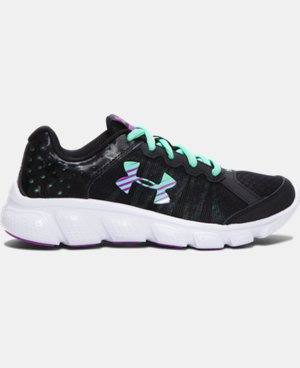 Girls' Pre-School UA Assert 6 Running Shoes   $54.99