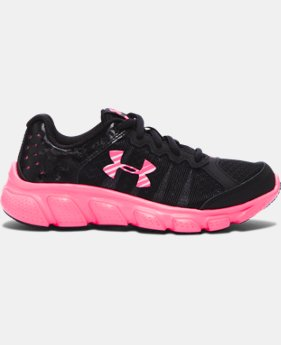 Girls' Pre-School UA Assert 6 Running Shoes LIMITED TIME OFFER 1 Color $38.99