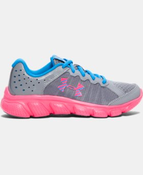 Best Seller Girls' Pre-School UA Assert 6 Running Shoes  2 Colors $51.99