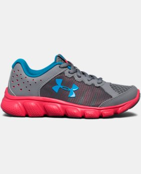 Girls' Pre-School UA Assert 6 Running Shoes   $38.99