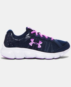 Girls' Pre-School UA Assert 6 Running Shoes